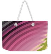 Satin Movements Pink II Weekender Tote Bag