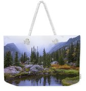 Saturated Forest Weekender Tote Bag