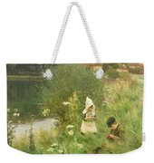 Saturday Afternoon Weekender Tote Bag