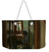 Saturday  An Interior View Of Garstin's Home  Weekender Tote Bag