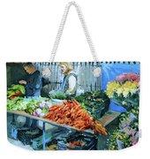 Saturday Market Weekender Tote Bag