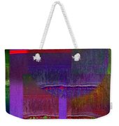 Saturn Abstract Weekender Tote Bag
