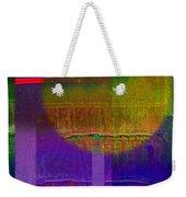 Saturn Lavender Weekender Tote Bag