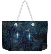 Saturnine Night Weekender Tote Bag