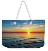 Sauble Beach Sunset 4 Weekender Tote Bag