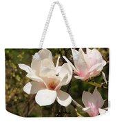 Saucer Magnolia Weekender Tote Bag