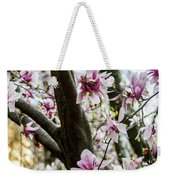 Saucer Magnolias In Central Park Weekender Tote Bag