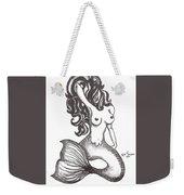 Saucy Mermaid Weekender Tote Bag