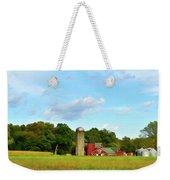 Sauer Farm, Mt. Marion Weekender Tote Bag by Nancy De Flon