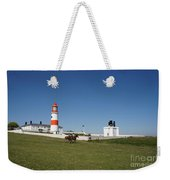 Souter Lighthouse And Foghorn. Weekender Tote Bag