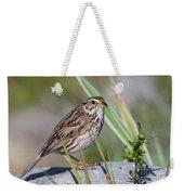 Savanah Sparrow Weekender Tote Bag