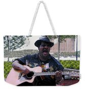 Savanna Blues Man Weekender Tote Bag