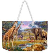 Savannah Animals Weekender Tote Bag