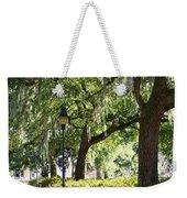 Savannah Benches Weekender Tote Bag by Carol Groenen