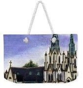 Savannah Cathedral Weekender Tote Bag