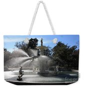 Savannah Fountain Weekender Tote Bag
