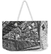 Savannah Perspective - Black And White Weekender Tote Bag