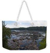Savannah River At Evans Weekender Tote Bag