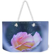 Savannah Rose 3 Weekender Tote Bag