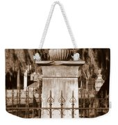 Savannah Sepia - Broken Weekender Tote Bag
