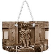 Savannah Sepia - Cotton Exchange Building Weekender Tote Bag