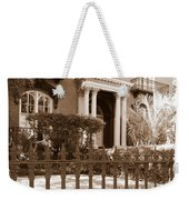 Savannah Sepia - Mercer House Weekender Tote Bag