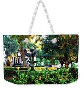 Savannah Square Weekender Tote Bag