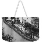 Savannah Stoops - Black And White Weekender Tote Bag