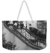 Savannah Stoops - Black And White Weekender Tote Bag