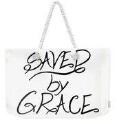 Saved By Grace Weekender Tote Bag