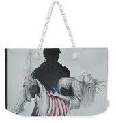 Saving Liberty Weekender Tote Bag