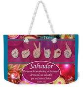 Savior Spanish Weekender Tote Bag