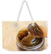 Savon Noir Black Soap Portion Weekender Tote Bag