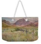 Saw Tooth Mountain Weekender Tote Bag