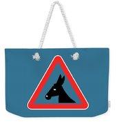 Sawing Bigstock Donkey 171252860 Weekender Tote Bag