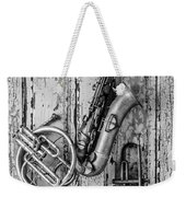 Sax French Horn And Trumpet Weekender Tote Bag