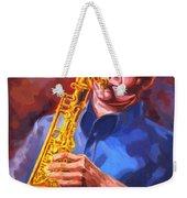 Sax Player  Weekender Tote Bag