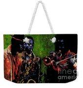 Saxophon Players. Weekender Tote Bag