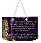 Saxophone Photographs Or Pictures For T-shirts Why Music 4819.02 Weekender Tote Bag