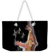 Saxophone Player Abstract  Weekender Tote Bag