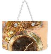 Saxy Sax Weekender Tote Bag