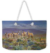 Say Cheese Antelope Weekender Tote Bag