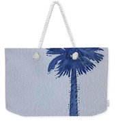 Sc Palmetto And Crescent Weekender Tote Bag
