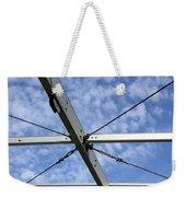 Scaffolding Sky View Weekender Tote Bag