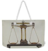 Scales For Weighing Gold Weekender Tote Bag