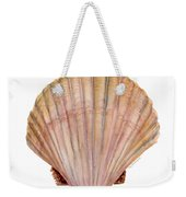 Scallop Shell Weekender Tote Bag by Amy Kirkpatrick