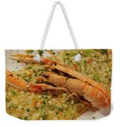 Scampi Risotto Weekender Tote Bag