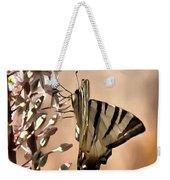 Scarce Swallowtail Feeding Weekender Tote Bag
