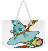 Scarecrow Hat From Wizard Of Oz Weekender Tote Bag