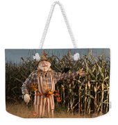 Scarecrow In A Corn Field Weekender Tote Bag